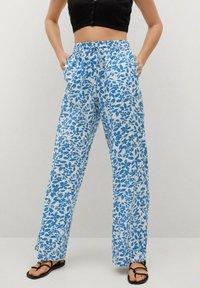 Mango - MERY - Trousers - light blue - 0