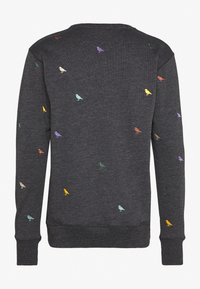 Cleptomanicx - GULL ALLOVER - Sweatshirt - black - 1