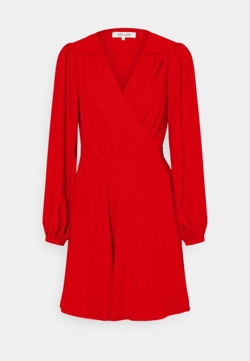 Diane von Furstenberg - LONDYN - Day dress - sindoor