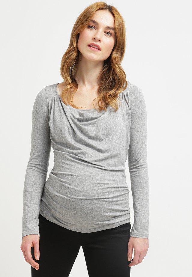 PRISCA - Maglietta a manica lunga - grau