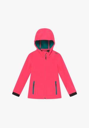 GIRL FIX HOOD - Softshellová bunda - gloss