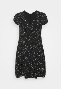 Anna Field Curvy - Day dress - black/white - 0