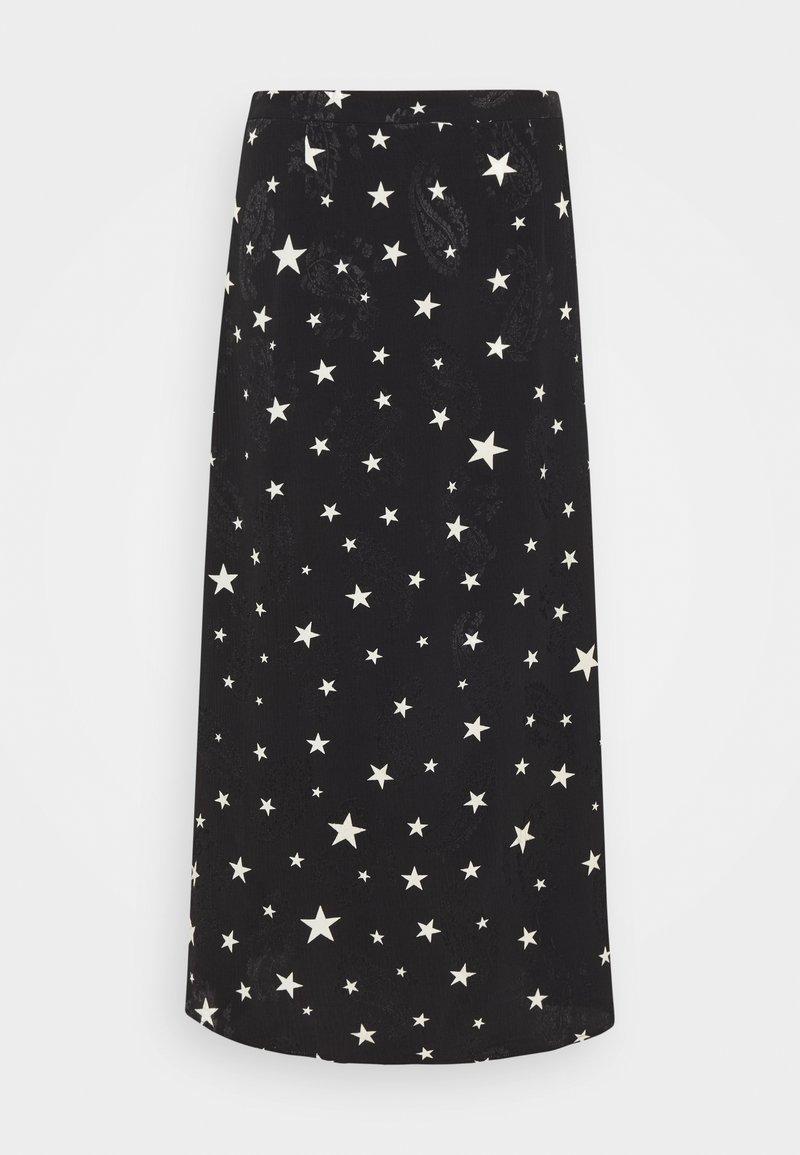 Fabienne Chapot - HALL COCO SKIRT - Pencil skirt - black/warm white
