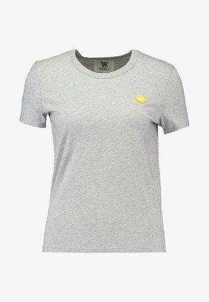 UMA - Camiseta estampada - grey melange