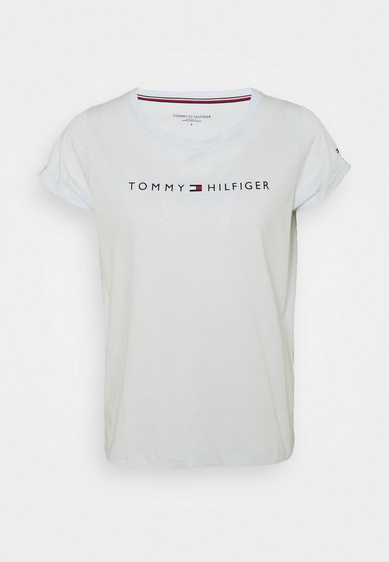 Tommy Hilfiger - ORIGINAL TEE LOGO - Pyjama top - luminous blue