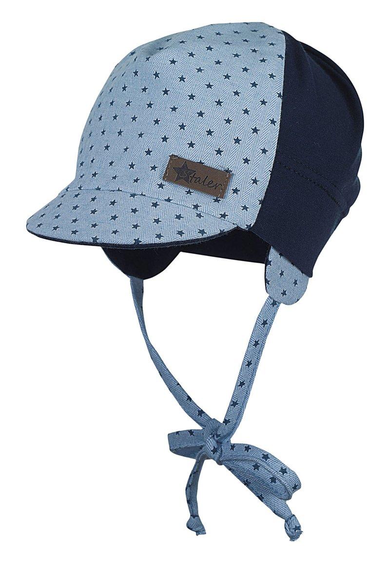 Sterntaler - BABY SCHIRMMÜTZEJUNGEN  - Hat - light blue