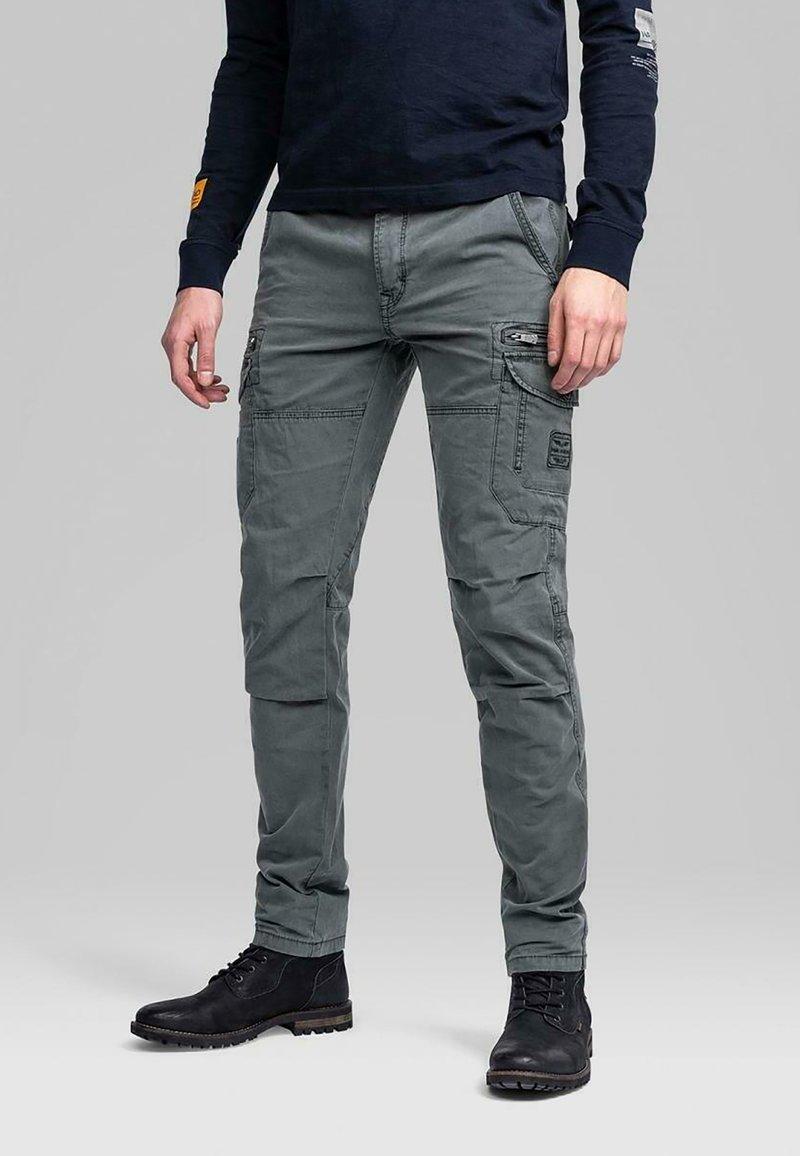 PME Legend - SKYTROOPER BROKEN TWILL - Cargo trousers - grey