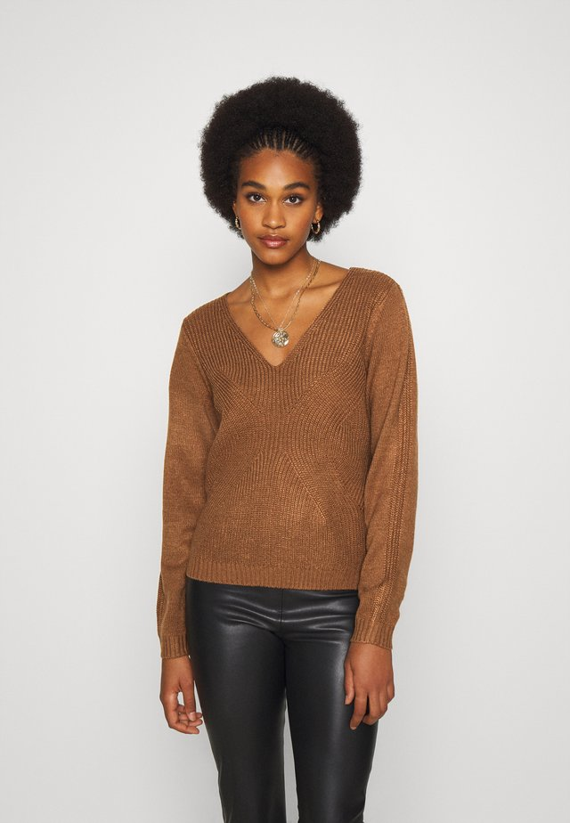 VIOA  - Pullover - toffee