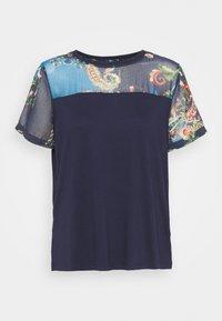 Desigual - VIENA - T-shirts med print - blue - 6