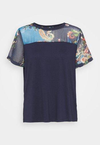 VIENA - Print T-shirt - blue
