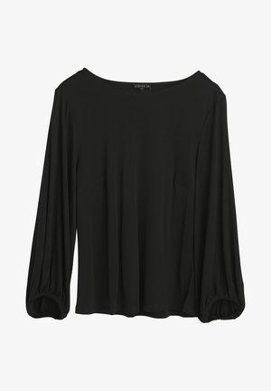 ELISA  - Long sleeved top - black