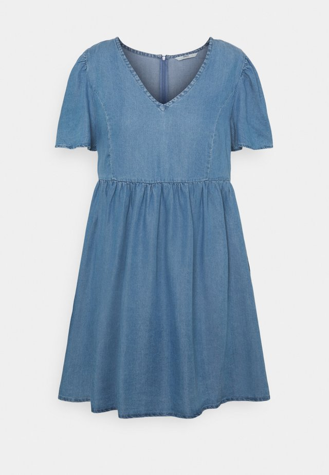 ONLVERA DRESS - Denimové šaty - medium blue denim