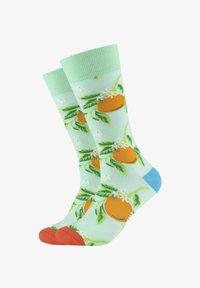 Fun Socks - 2ER-PACK - Socks - caribic green - 0