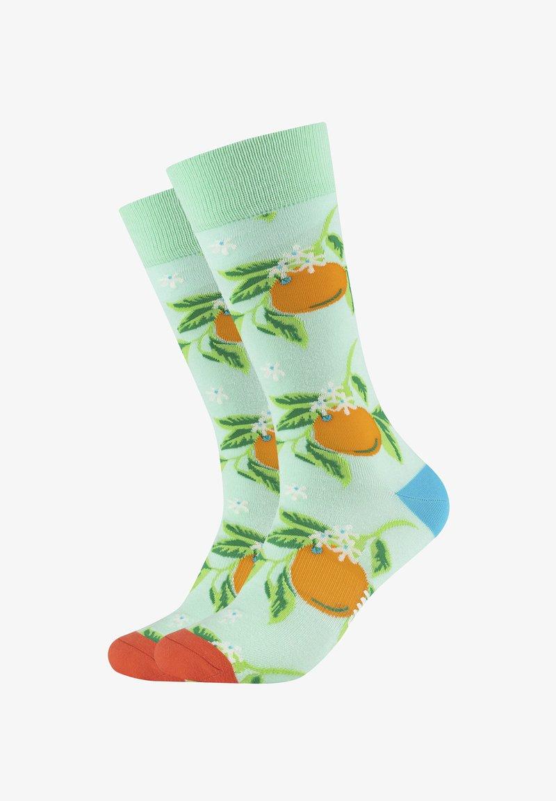 Fun Socks - 2ER-PACK - Socks - caribic green
