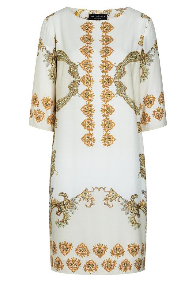 KURZARMKLEID APOLY - Korte jurk - offwhite