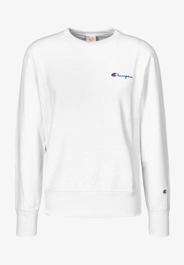 SMALL SCRIPT CREWNECK  - Sweater - white