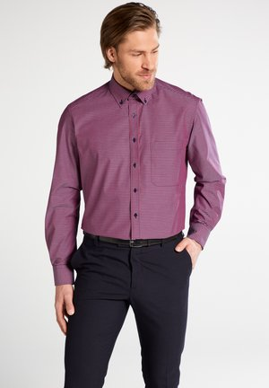 COMFORT FIT - Shirt - red/white