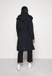 Danefæ København - BORNHOLM RAINCOAT - Waterproof jacket - dark navy - 2
