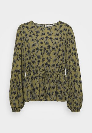 THEAANNA - Long sleeved top - dark olive