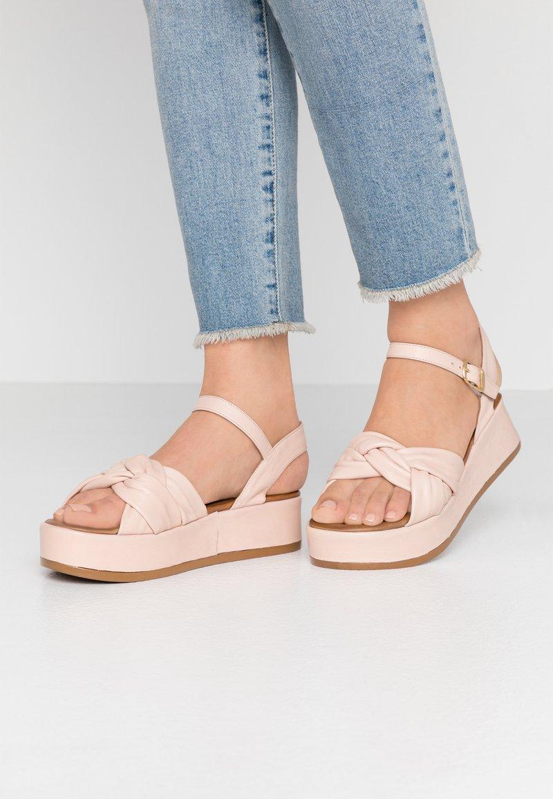 Carmela - Platform sandals - nude