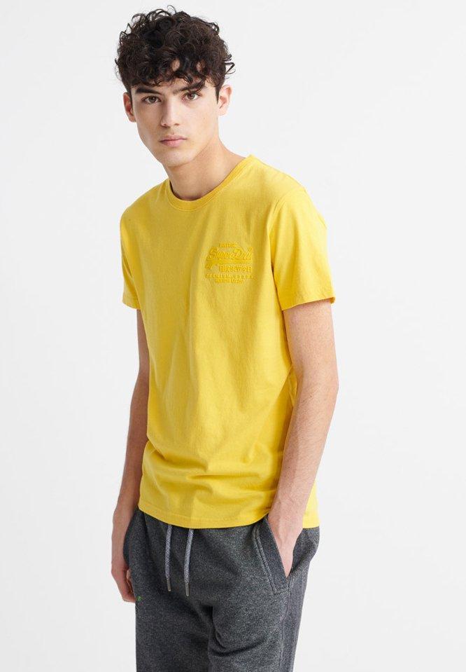 Men VINTAGE LOGO PREMIUM GOODS TONAL INJECTION  - Basic T-shirt