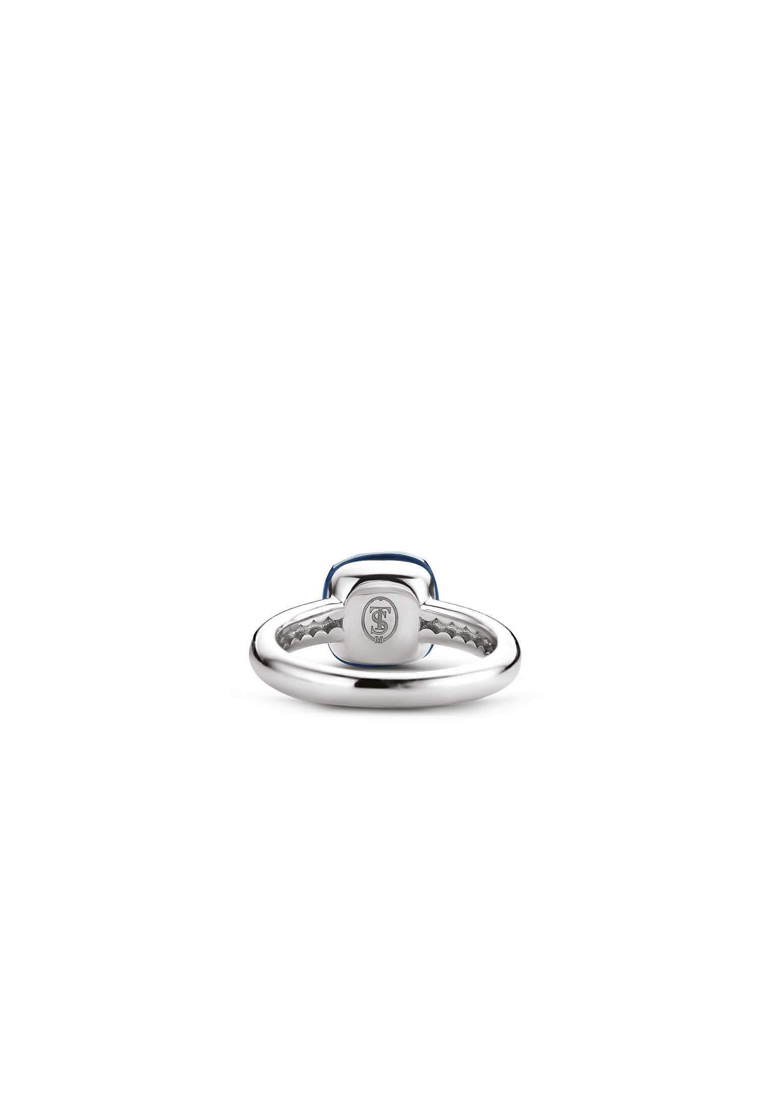 Ti Sento Milano - Ring Silver/blau