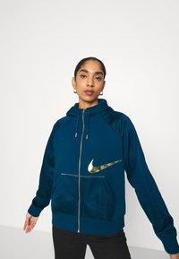 Nike Sportswear - Zip-up hoodie - valerian blue/deep ocean - 3