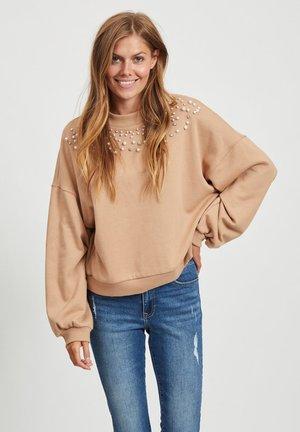 Sweatshirt - dusty camel
