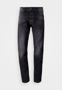 G-Star - SCUTAR 3D SLIM TAPERED - Jeans Tapered Fit - nero black stretch- antic charcoal - 5