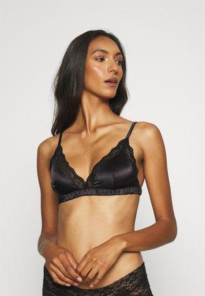 Triangle bra - black dark