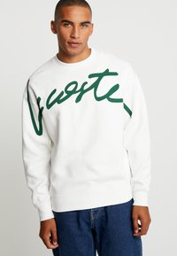 Lacoste LIVE - Sweatshirt - flour/green - 0