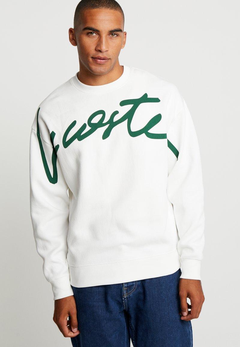 Lacoste LIVE - Sweatshirt - flour/green