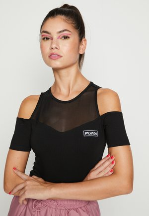 CUTOUT BODY - Top - black