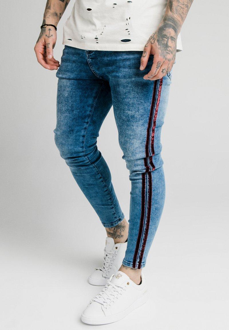 SIKSILK - Jeans Skinny Fit - midstone