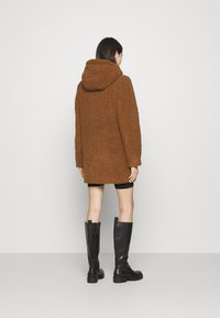 ONLY - ONLNEW TERRY CURLY COAT  - Short coat - toasted coconut - 2