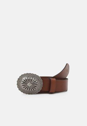 WIDE CONCHA DRESS CASUAL MEDIUM - Belt - cuoio