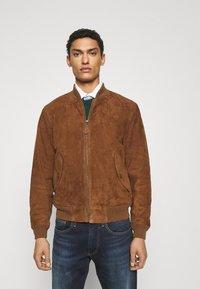 Polo Ralph Lauren - GUNNERS - Skinnjakke - country brown - 0