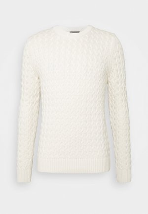 CABLE CREW - Pullover - transition cream