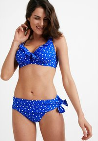 Pour Moi - MINI MAXI UNDERWIRED - Bikini top - blue - 1