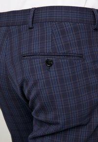 Selected Homme - SLHSLIM MYLOLOGAN SUIT - Oblek - navy blue/grey - 8