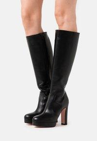 Liu Jo Jeans - Boots med høye hæler - black - 0