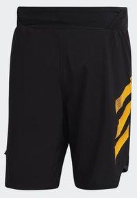 adidas Performance - Pantalón corto de deporte - black - 10