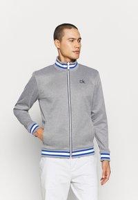 Calvin Klein Golf - THOMSON FULL ZIP - Sweatshirt - grey marl - 1