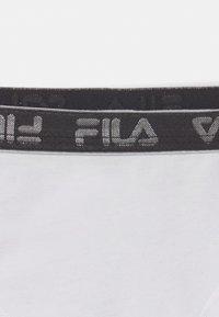 Fila - JUNIOR GIRLS BRIEF 3 PACK - Briefs - black/white/pink - 3