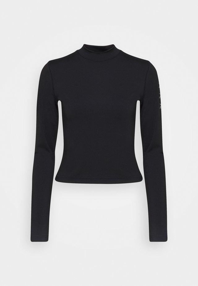 LONG SLEEVE - Bluzka z długim rękawem - black
