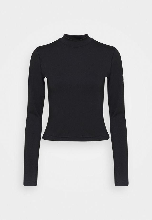 LONG SLEEVE - Maglietta a manica lunga - black