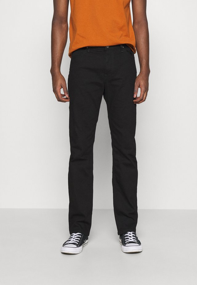 WEST - Straight leg jeans - clean black