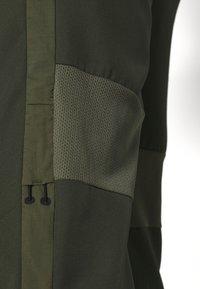 Nike Performance - DRY ACADEMY PANT - Tracksuit bottoms - cargo khaki/medium olive/white - 5