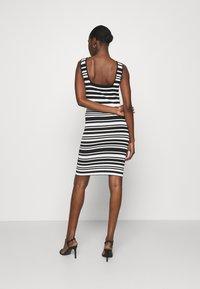 NIKKIE - JEAN DRESS - Jumper dress - white/black - 2