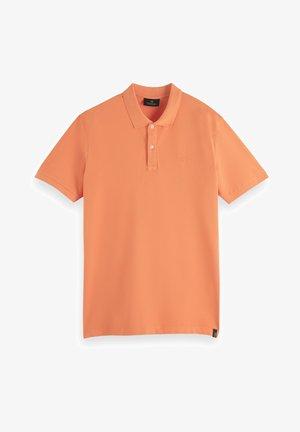 Polo shirt - peach echo
